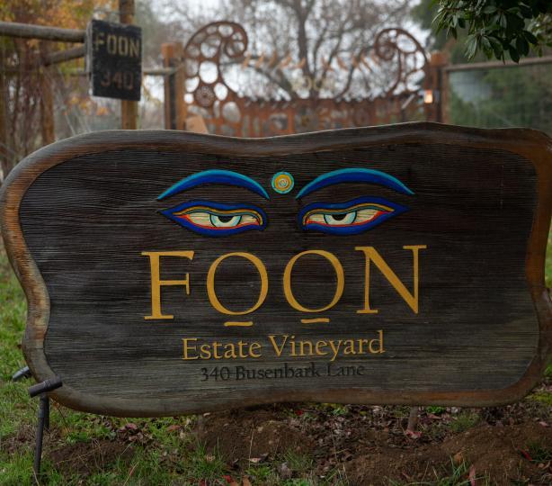 Foon Estate Vineyard Entrance