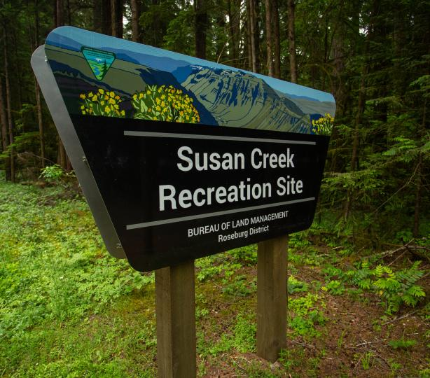 Susan Creek Recreation Site
