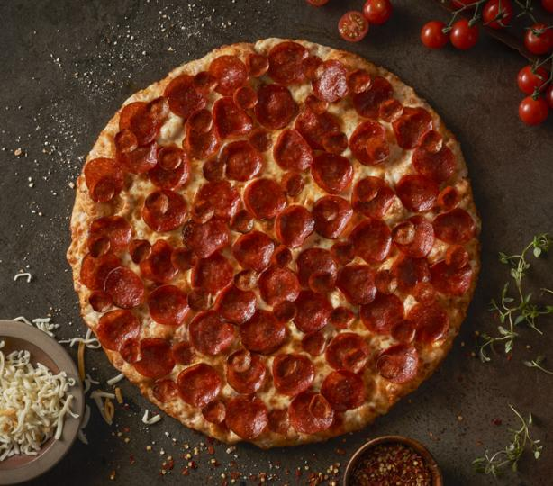 Round Table Pepperoni Pizza