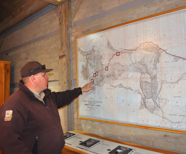 Camp Floyd State Park - Clay Shelley, Park Manager