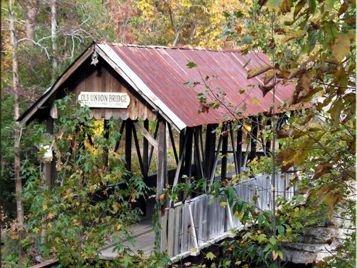 Old Union Covered Bridge – Mentone, DeKalb County