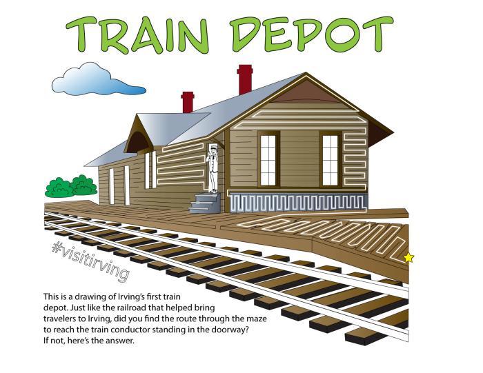 Train Depot Key