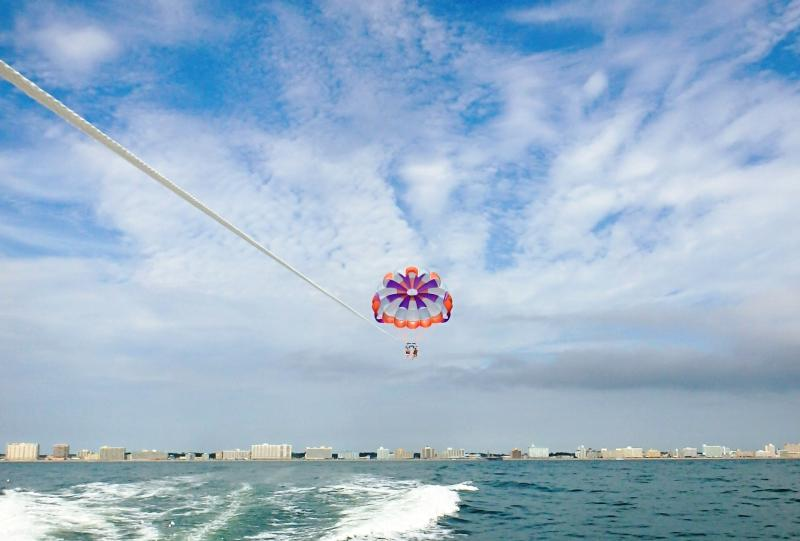 Parasailing Virginia Beach Oceanfront