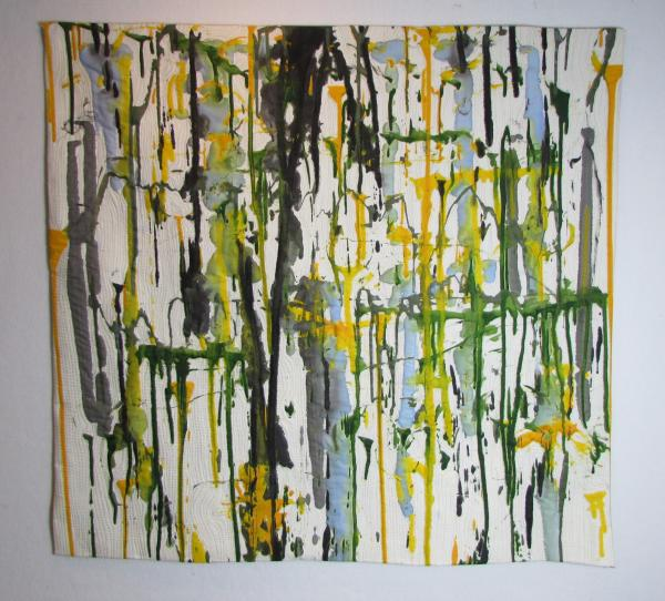 "Joyce Martelli's ""Rain Forest"" is a tribute to the lush rain forests she remembers from the past."
