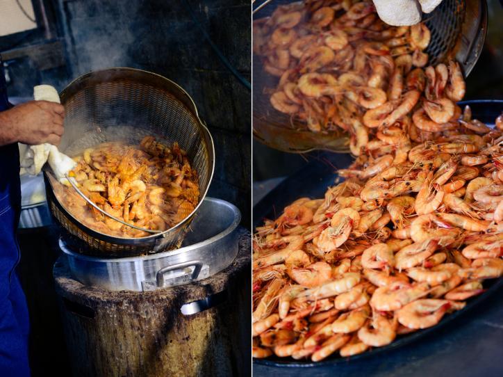 Boiled Shrimp in Lake Charles, La.