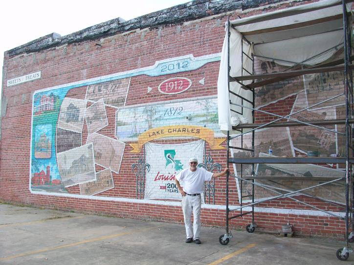 Fred Starks Bicentennial Mural