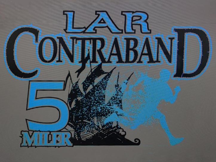 Contraband 5 Miler 2017 t-shirt