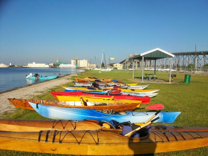 Kayaks | I-10 Beach in Lake Charles, Louisiana