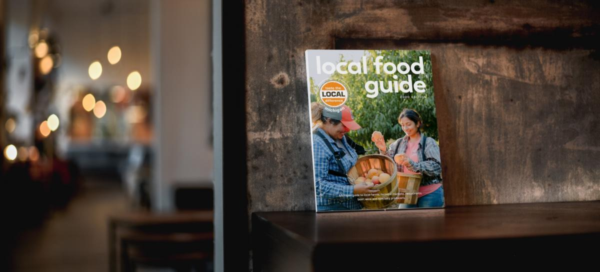 Taste the Local Difference Food Guide