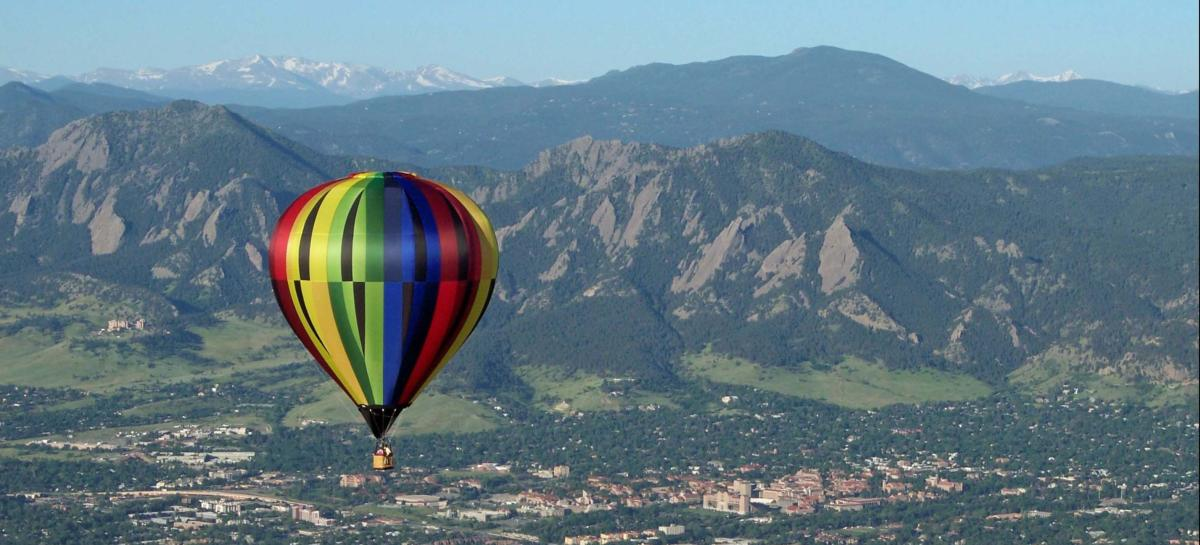 Hot Air Balloon Boulder