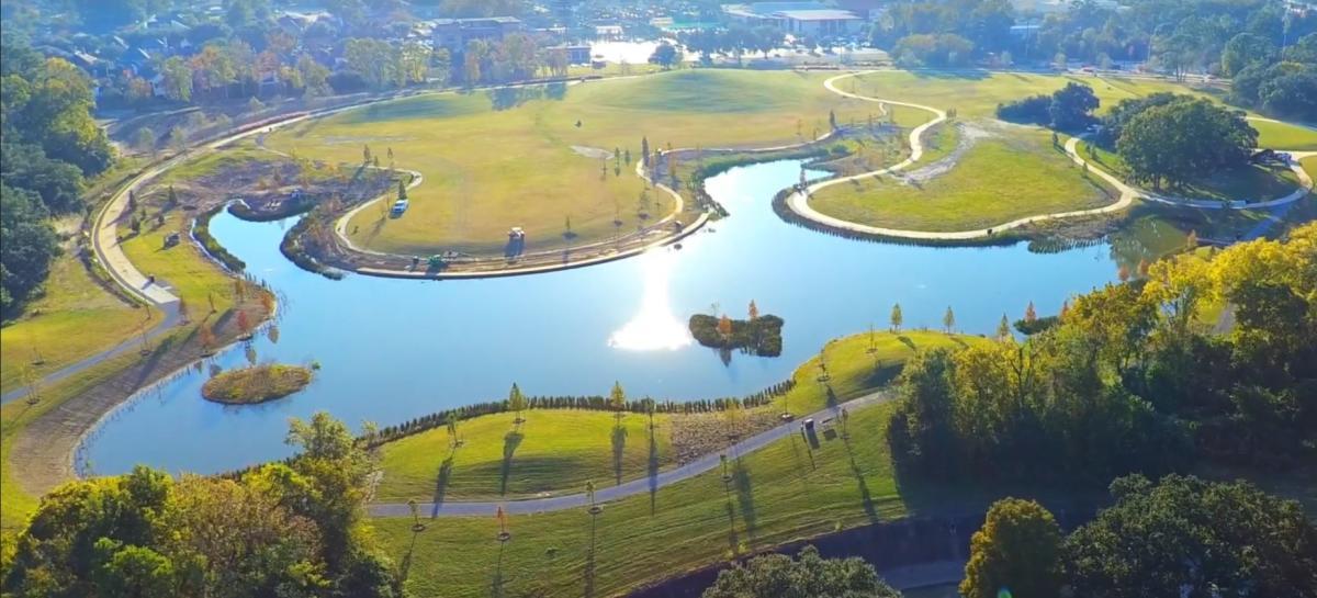 Moncus Park Lake