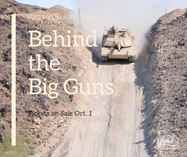 behind the big guns