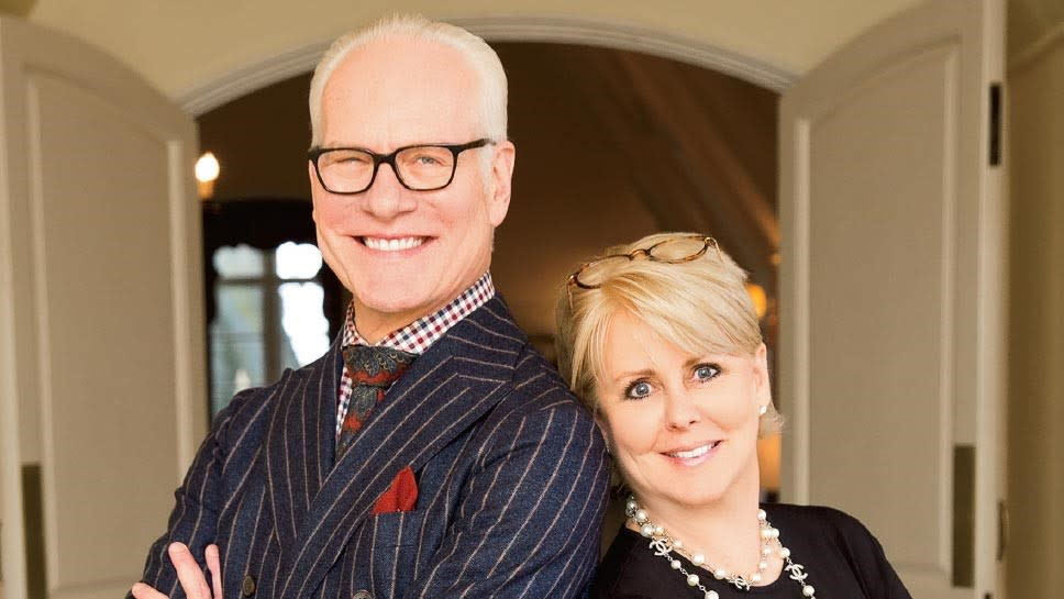 Tim Gunn and Peach Carr at StyleWeek Northeast in Providence, RI