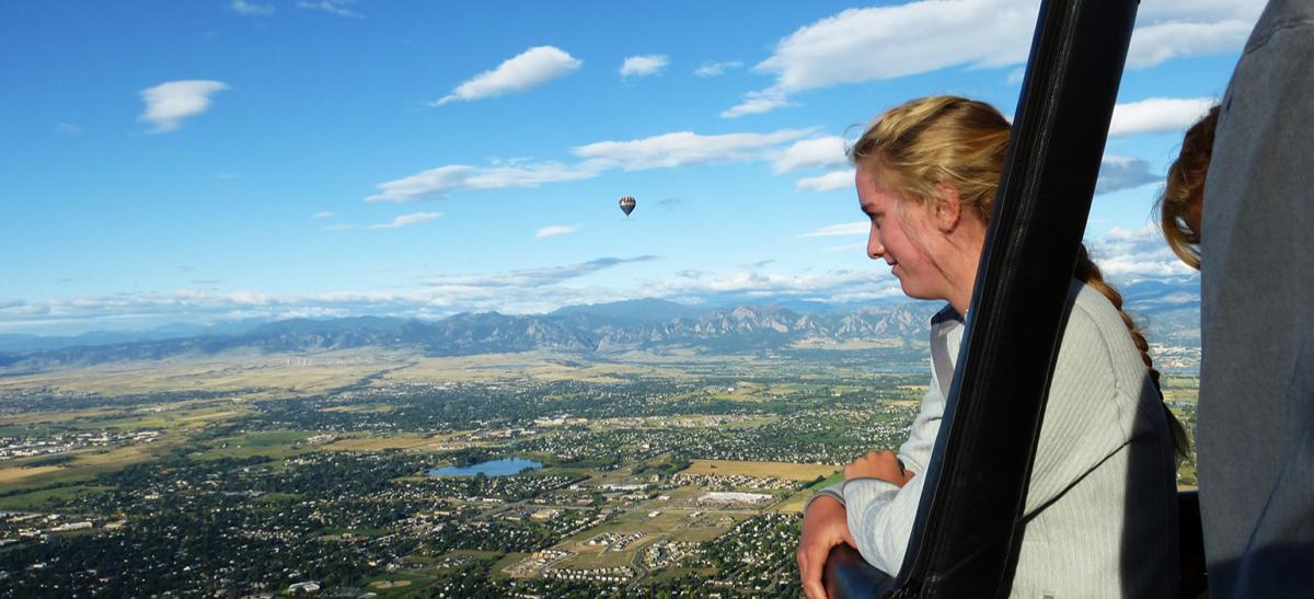 Hot Air Ballooning Boulder
