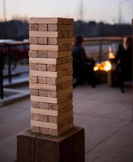 PINS Patio Giant Jenga