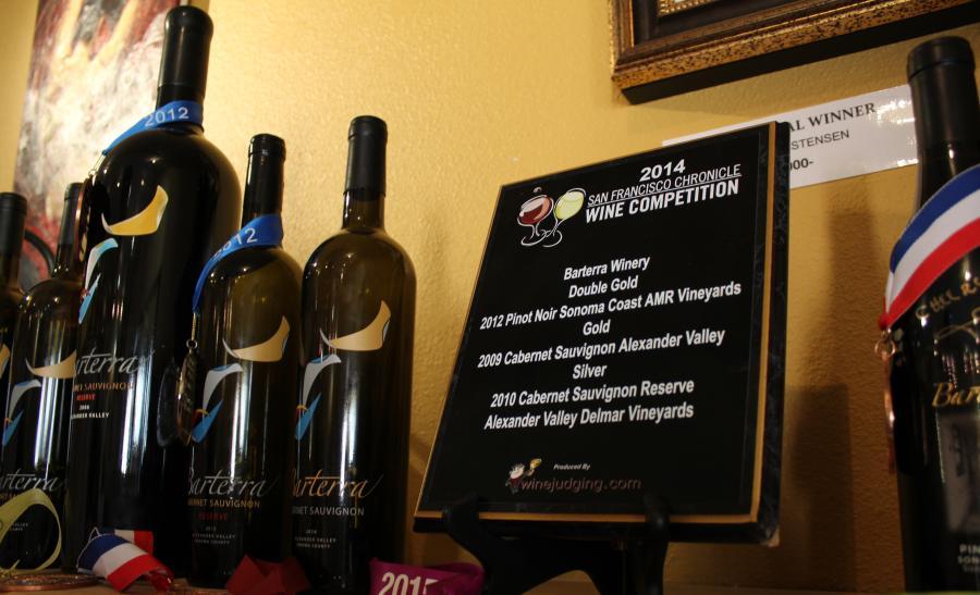 Award-Winning Wines at Barterra Winery