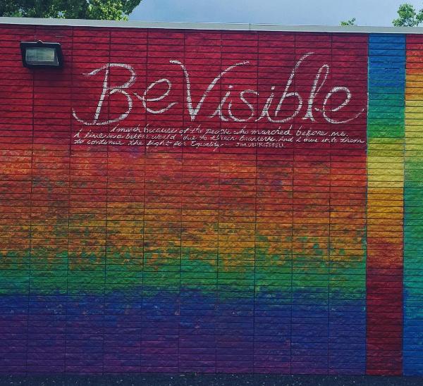 Be Visible Wall