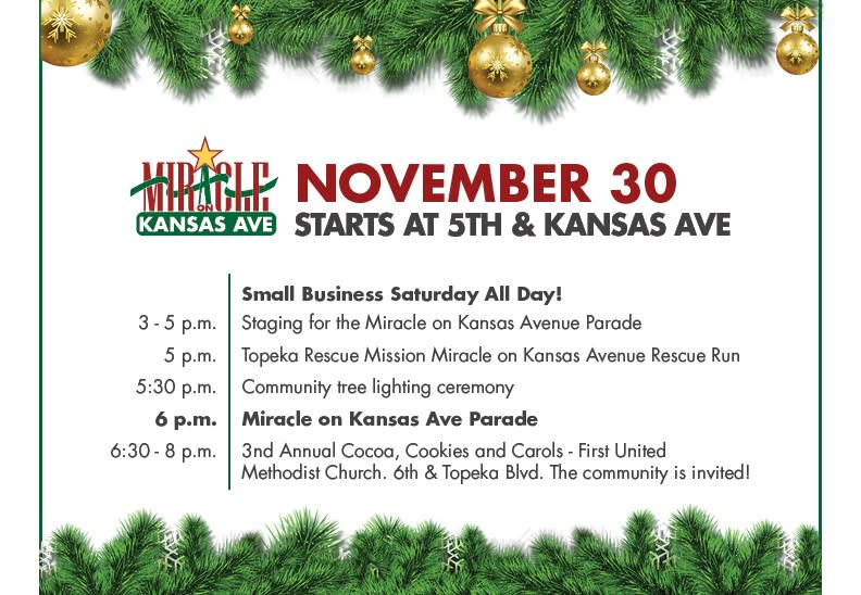 miracle on kansas ave schedule