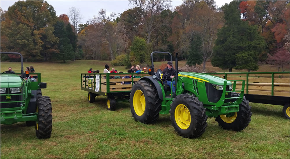 Whitehall Farms Tractor Ride