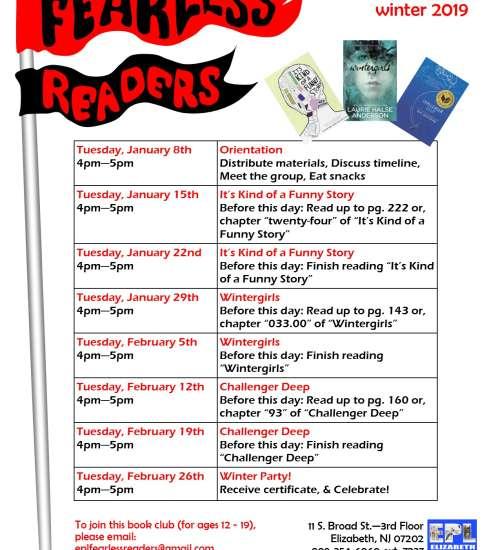 Fearless Readers Book Club