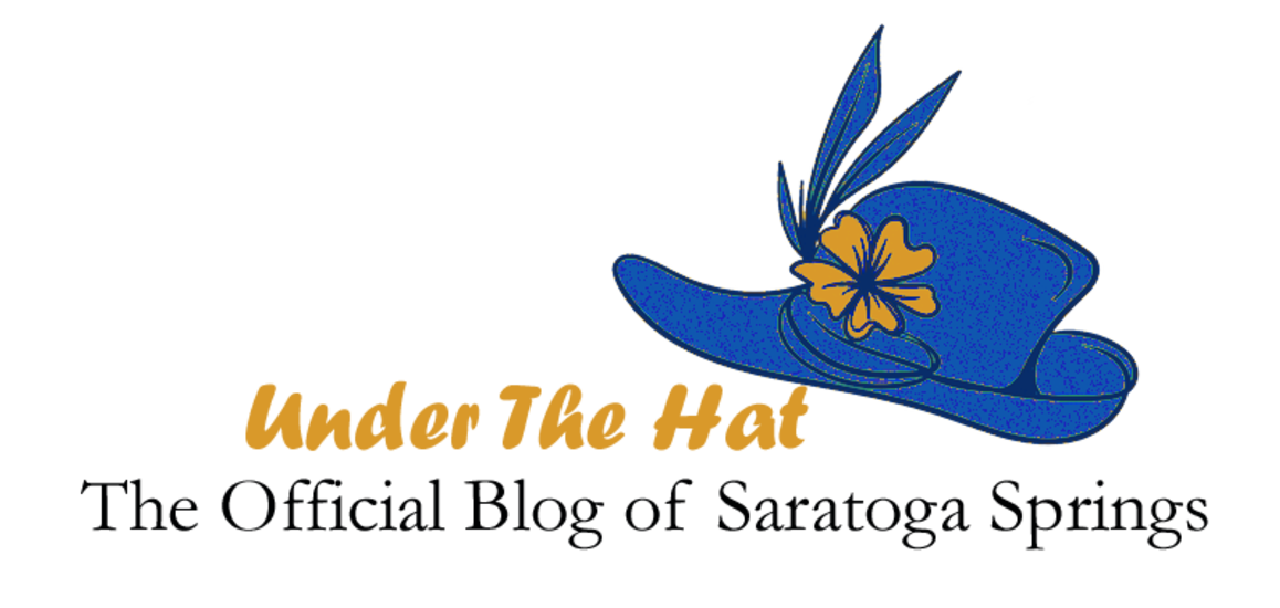 Under The Hat: The Official Blog of Saratoga Springs logo with derby hat