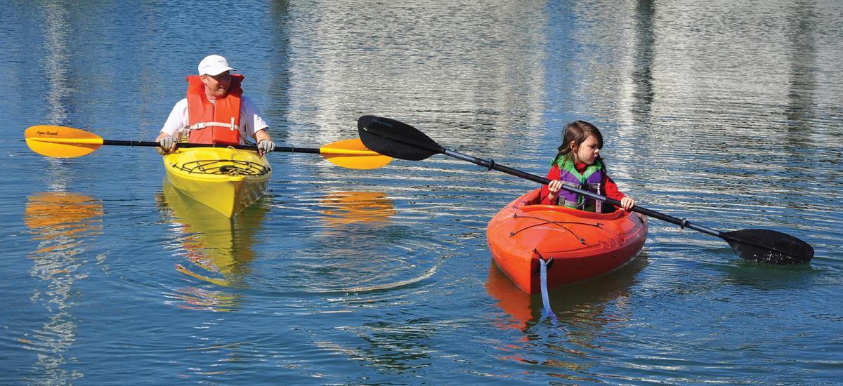 Kayaking Oakland Estuary