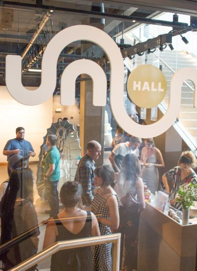 Union Hall gallery in Denver