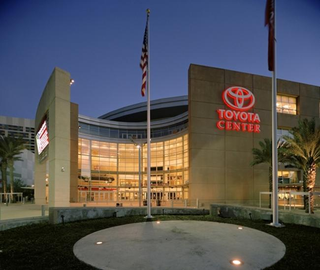 Toyota Center Tours