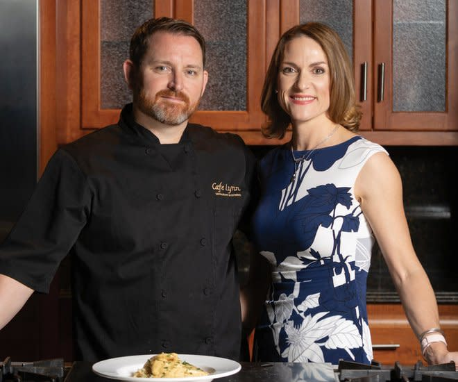 Chef Joey Najolia & Wife Brandi, Cafe Lynn