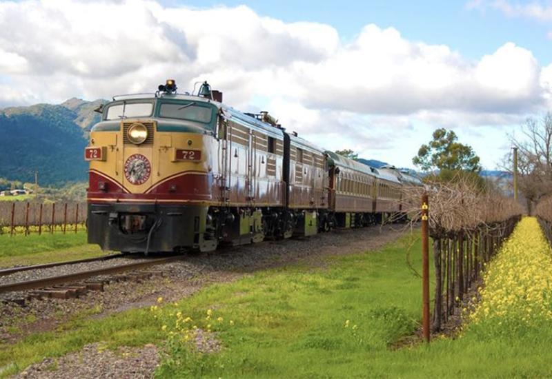 Napa Valley Wine Train in Winter