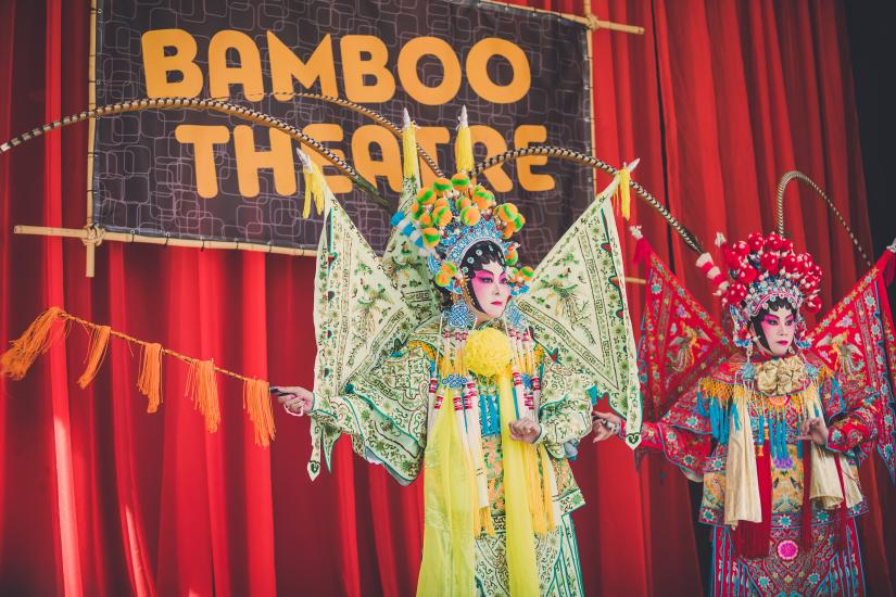 Bamboo Theatre at the Richmond World Festival
