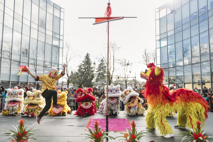 Chinese New Year at Aberdeen Centre - Photo: Tourism Richmond