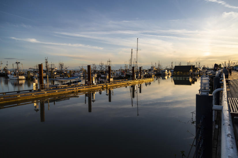 Steveston Boardwalk & Wharf