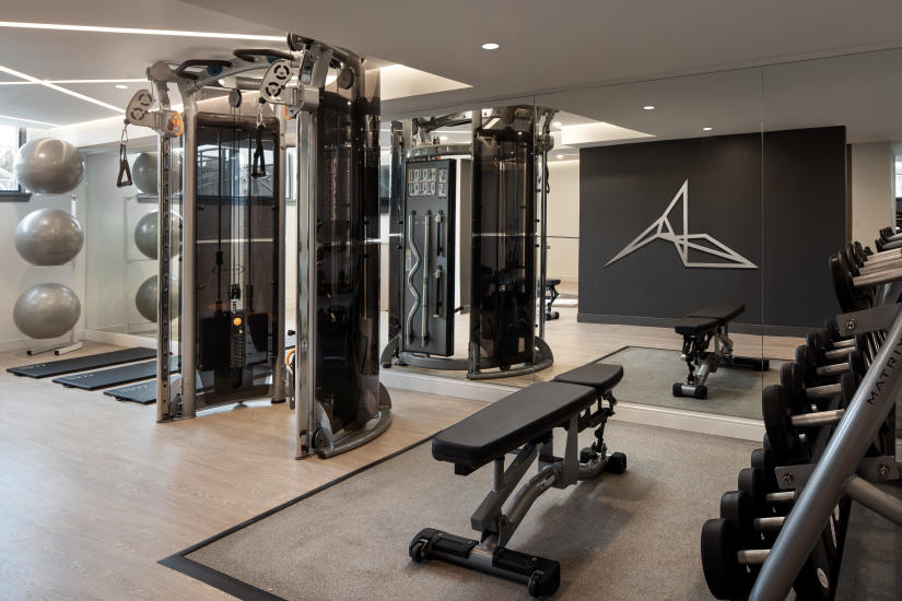 The Marriott's Fitness Centre