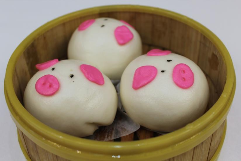 Pig Egg Young Buns at Fortune Terrace