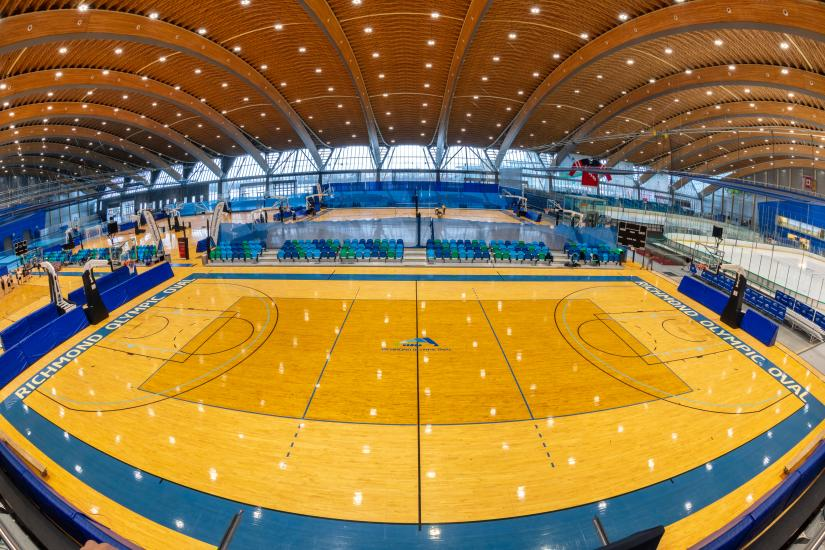 A glimpse inside the sports facilities at the Richmond Olympic Oval