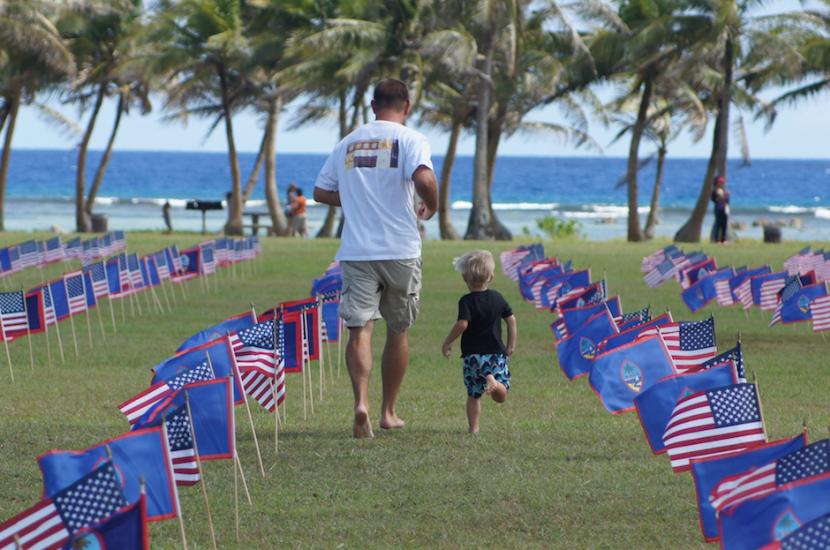 关岛将举办阵亡将士纪念日旗帜展示活动