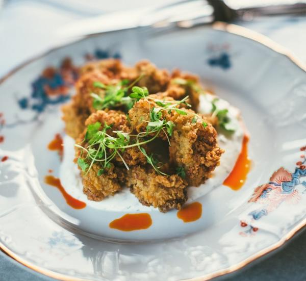 Kindred Fried Oysters