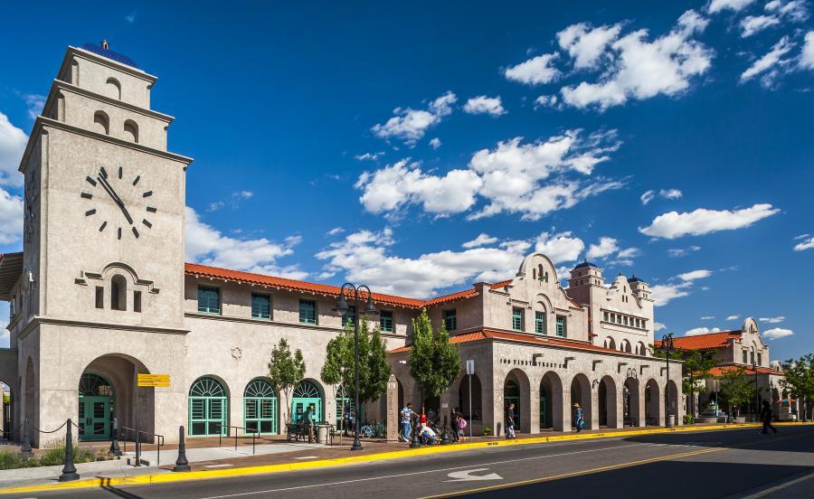 Alvarado Train Station Downtown