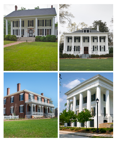 Antebellum Homes Good Grit