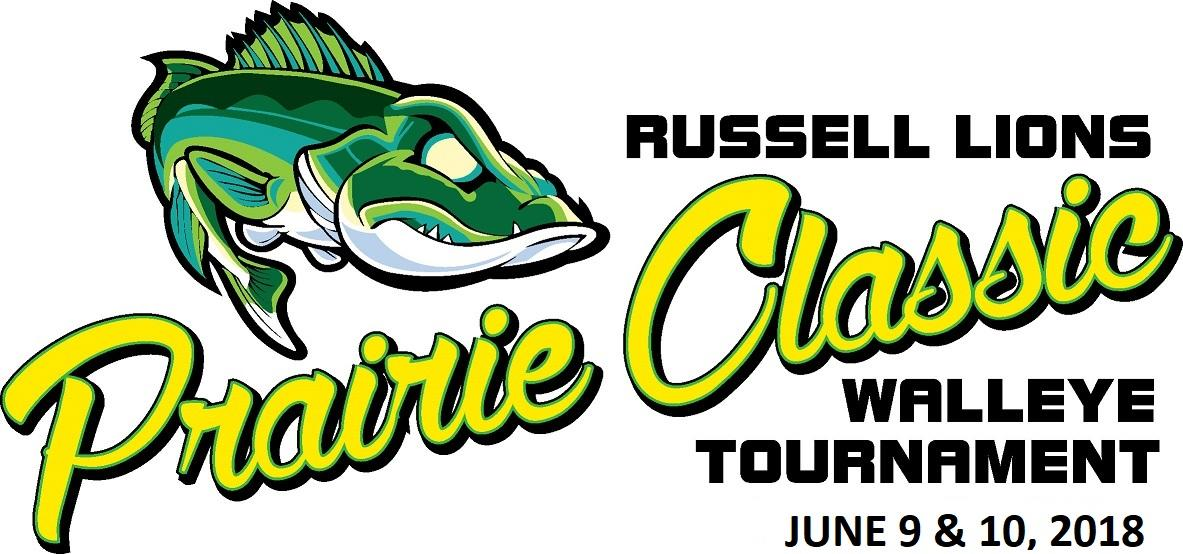 Russell Lions Prairie Classic Catch and Release Walleye Tournament