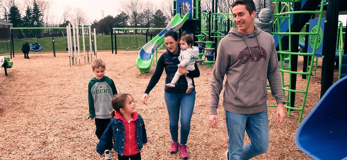 Family in Westfield