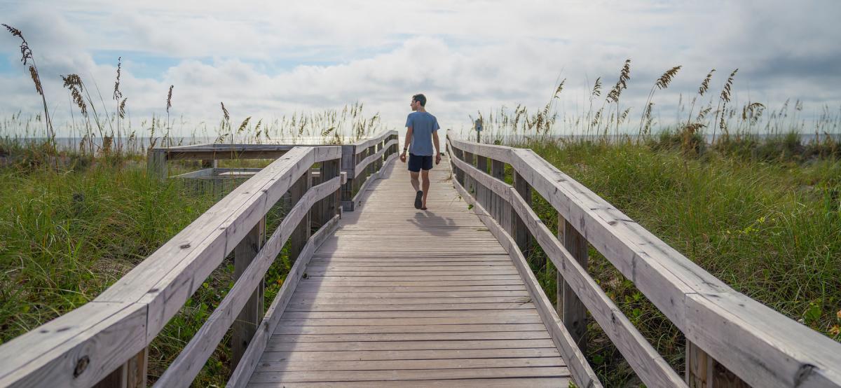 CB beach walk