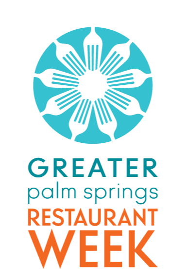 2019 Greater Palm Springs Restaurant Week logo