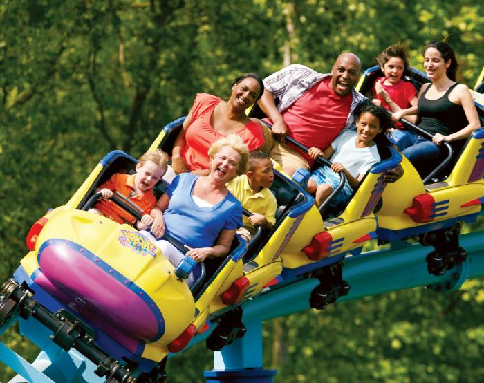 Roller Coaster at Sesame Place