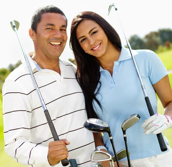 Couple on the Weequahic Golf Course
