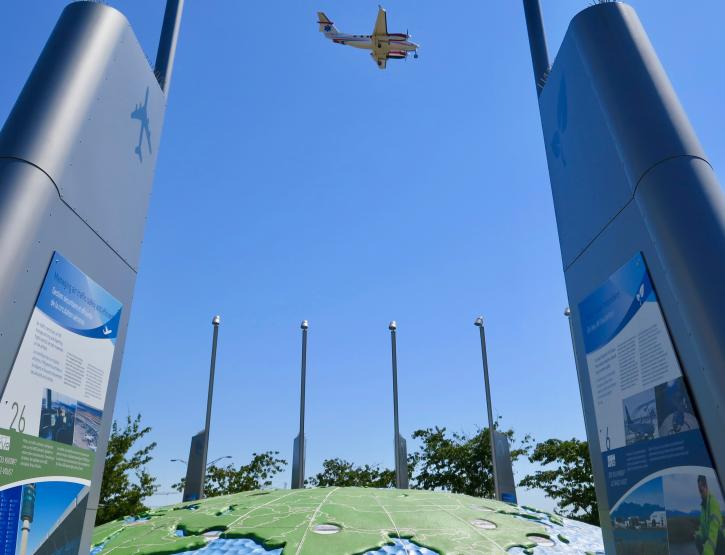 Larry Berg Flight Path Park - Photo: John Lee