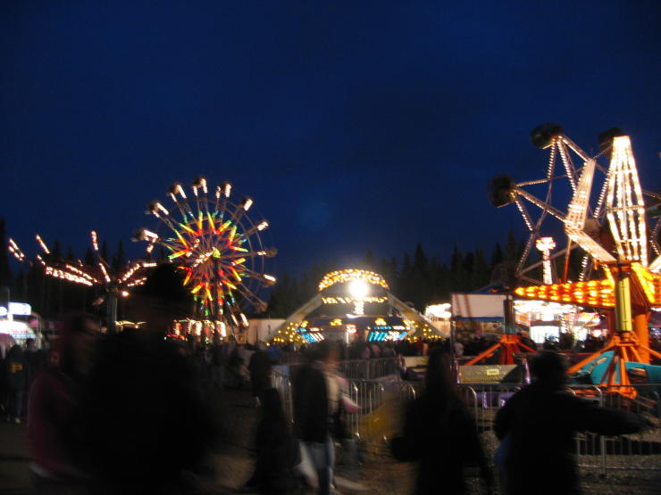 Tanana Valley Fair Nighttime