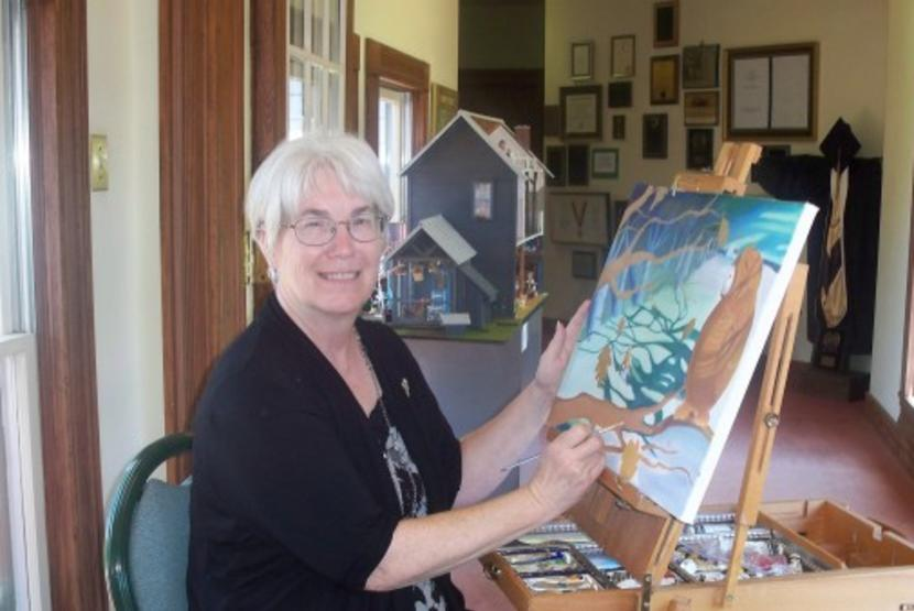 Hiddenite Arts and Heritage Center Painter