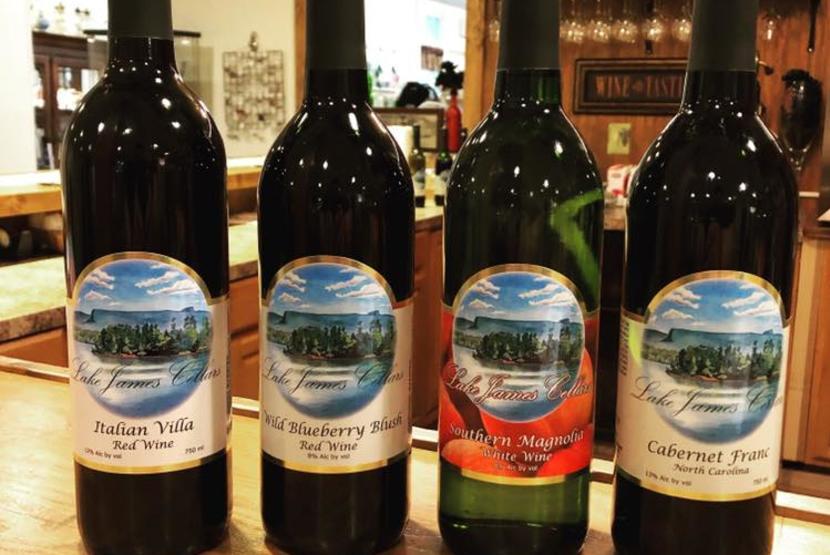 Lake James Cellars Wine Collection